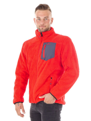 CMP Pinewood chaqueta Man jacket rojo impermeable transpirable ahumado