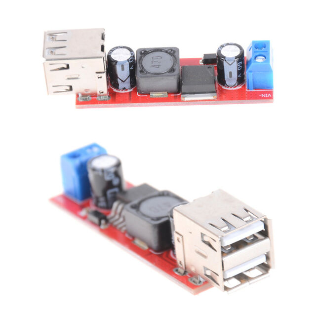 DC 6V-40V To 5V 3A Double USB Charge DC-DC Step-down Converter Module  AP ML