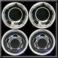 03-17 Dodge Ram 3500 17 Dually Chrome Wheel Simulators Dual Skins Liners Covers