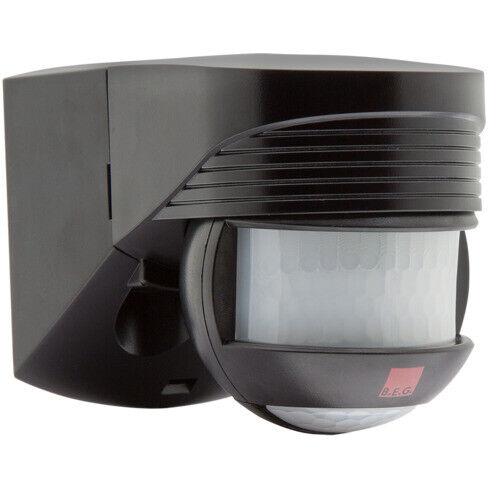 BEG Bewegungsmelder LC-CLICK-N 200 schwarz 91022 außen Unterkriechschutz