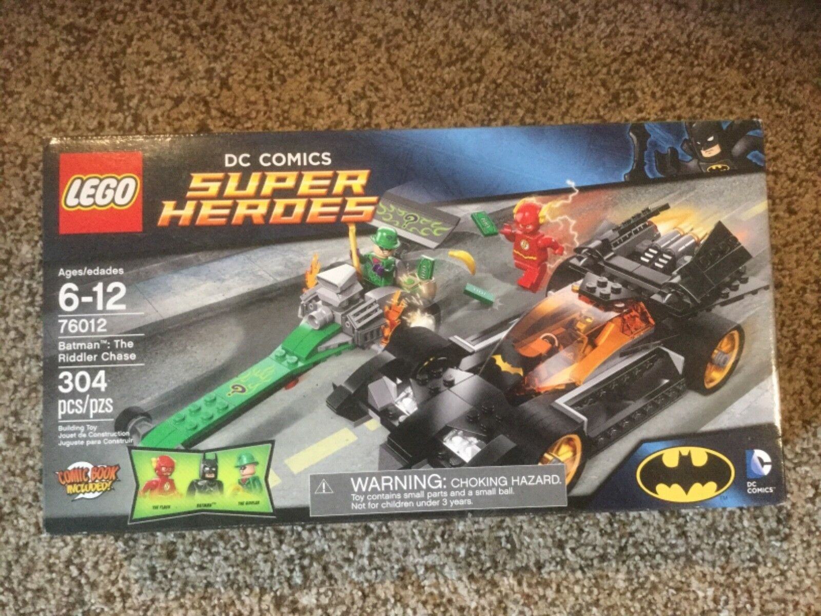 NIB LEGO DC Comics Batman The Riddler Chase  76012