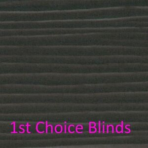 Details About Made To Measure Black Faux Wooden Venetian Blinds Plastic Wood Effect Waterproof