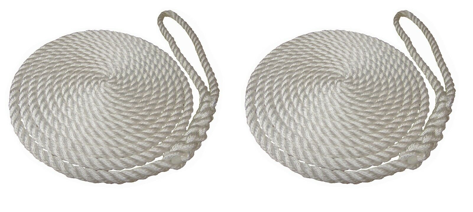 White Mooring Ropes, Softline, Warps, Boat Lines, Yachts, Canal, Boats,12mm-16mm