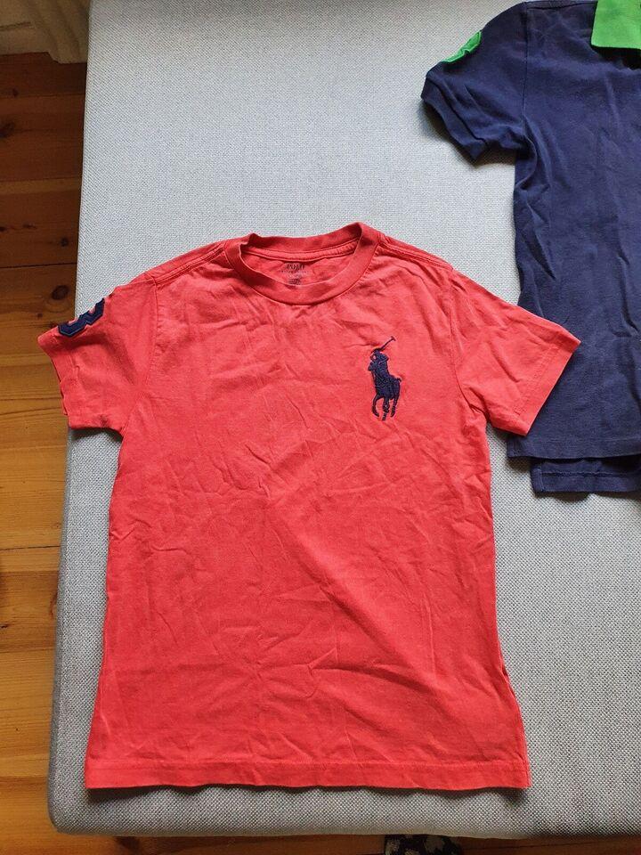 Polo t-shirt, 2 polo t-shirts Ralph Lauren str 130, Ralph