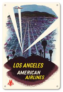 Palm Springs California 1960s 8in x 12in Vintage Metal Sign