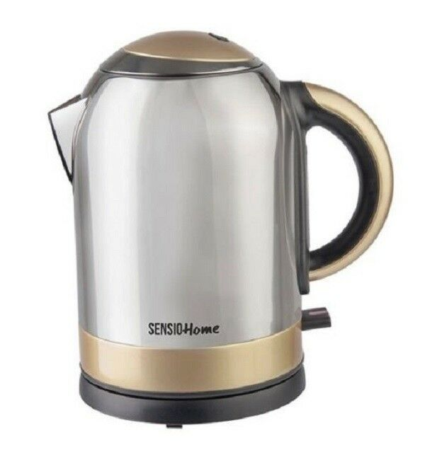 New Kenwood SJM480 3000W 1.7 Litre Electric Kettle In Brushed Stainless Steel
