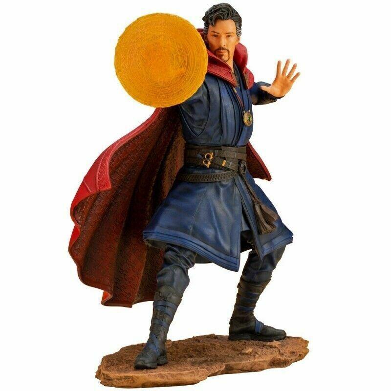 Kotobukiya 1  10 doctor strange avengers infinity war artfx + pvc statue  100% livraison gratuite