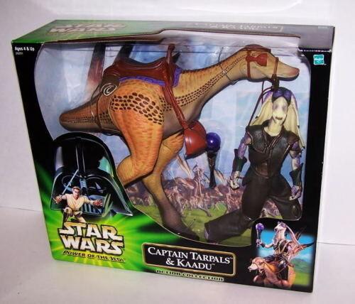 Star Wars POTJ 12  Captain Tarpals & & & 14  Kaadu Figures 374fd2