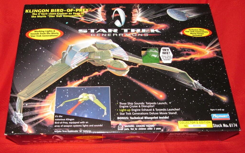 Star trek generations - bird-of-prey 1994 misb