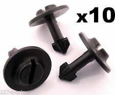 10x Audi Plastic Twist Bolt Clip Pin- Engine Undertray Splashshield Arch Lining
