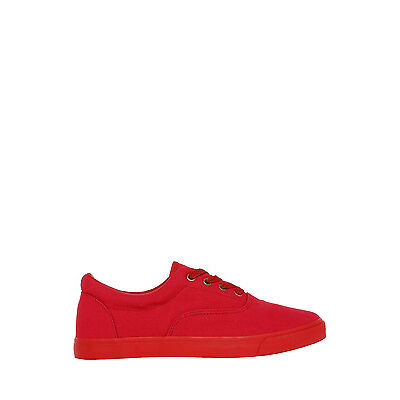 NEW Kenji Amante Canvas Sneaker Red