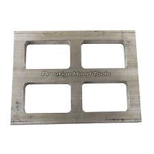 Mold Frame Aluminum Four cavity Mold Rubber Frames Valcanize Four Molds 12 mm