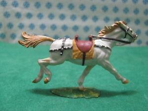 Rare Vintage 10  -  CAVALLO / HORSE 40 mm. Original Hausser Elastolin 1969-1979