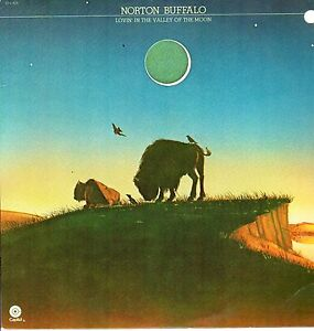 Norton-Buffalo-LP-Capitol-Records-1977-ST-11625-Lovin-039-In-the-Valley-of-the-Moon