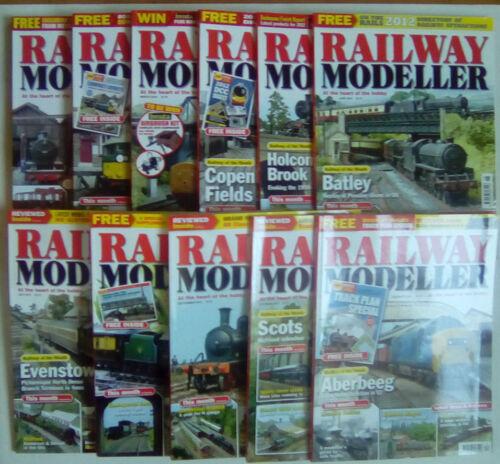 Railway Modeller Magazine January - December 2012 SELECT YOUR CHOICE
