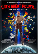 With Great Power: The Stan Lee Story (DVD, 2017)