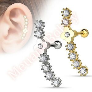16G-CZ-Flower-Cartilage-Tragus-Barbell-Ear-Ring-Bar-Piercing-Stud-Body-Jewellery