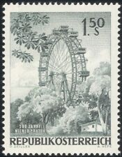 Austria 1966 Viena Noria/Feria/Ocio/Turismo/Ingeniería 1v (at1058a)