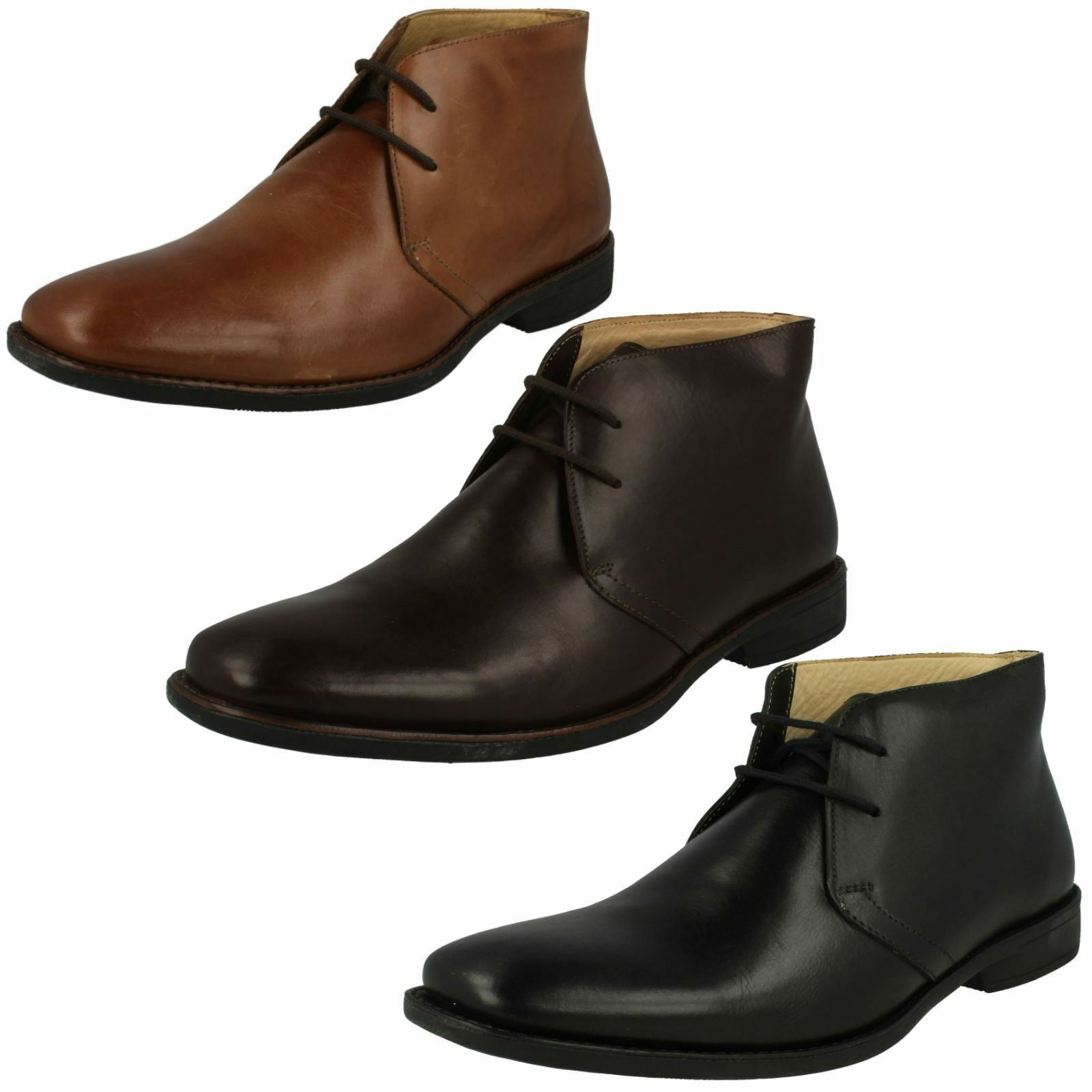 Mens Anatomic Formal Ankle Boots '929224LB'