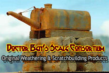 Realistic Rust Weathering Solution-4oz Doctor Ben's Scale Consortium Craftsman H