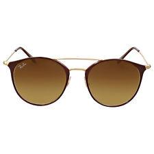 Ray Ban Brown Gradient Cat Eye Sunglasses
