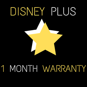 Disney-plus-1-month-warranty-fast-delivery