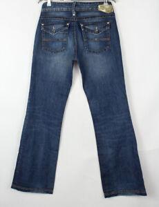 TOMMY HILFIGER Women Robin Old School Blue Flared Jeans Size W31 L34