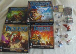 Edition Deutsch Bemalt Spiele Descent Reise ins Dunkel 2