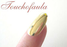 14K SOLID GOLD FINGER NAIL HIGH POLISHED IN YELLOW GOLD