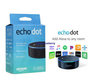 New-Amazon-Echo-Dot-2nd-Generation-w-Alexa-Voice-Media-Device-black