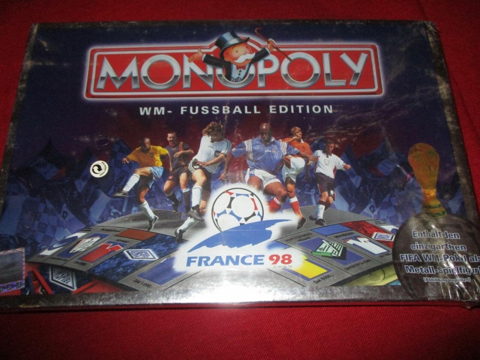 Parker 19618 monopoly WM-futbol Edition nuevo embalaje original