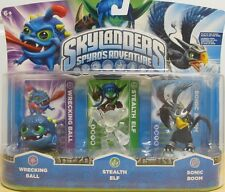 Rare Crystal Clear Stealth Elf Skylanders Spyros Adventure 3DS PS3 Wii Xbox