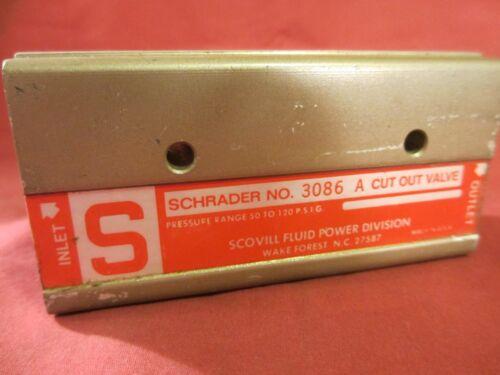 Schrader 3086A Scovill Cut Out Valve