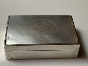 Heavy-Solid-Sterling-Silver-amp-Mother-Of-Pearl-Pill-Box-B-ham-1982-Philip-Kydd