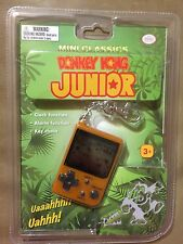 NEW Nintendo Mini Classics DoNkey Kong Junior Keychain Video Game Watch NIP