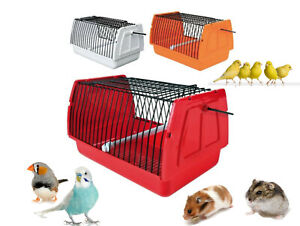 NEW-SMALL-BIRD-PET-HAMSTER-HOLIDAY-VET-TRAVEL-CARRY-CAGE-22X-14-X-15-CM-5901