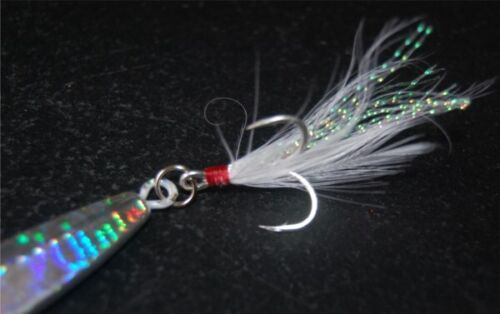 5pc 15-40g Micro Metal Butterfly Jig Offeshore Fishing Lure Snapper Jigging Bait