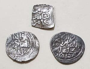SAADIAN-North-Africa-THREE-COINS-LOT-High-grade-Islamic-Collection-Scarce-Types