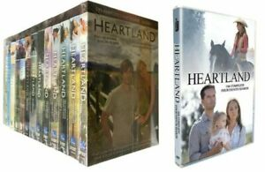 HEARTLAND : COMPLETE SERIES- SEASONS-1-14, DVD SET, SHIPPING IS FREE. NEW.
