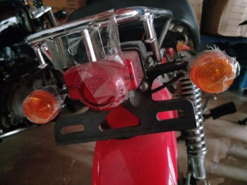 Plastics 12 Volt Rear Tail Light For Honda Z50 Z 50 Z50JZ Monkey Bikes