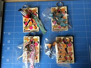 Banpresto-Lupin-The-3rd-Metal-Plate-amp-Figure-Key-holder-All-4-items-Complete-Set