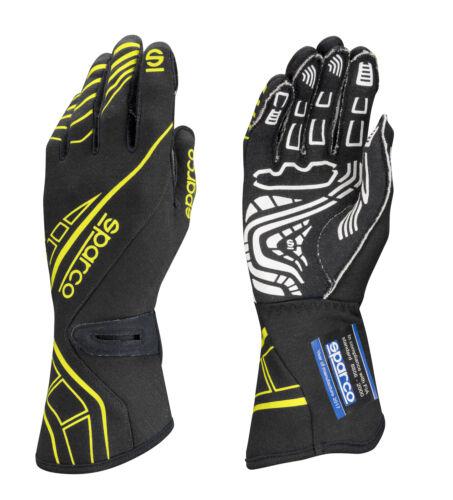 Yellow SPARCO 00131111NRGF Glove Lap RG-5 Large Black