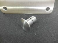 Bobs Machine Shop Pedestal Seat Plug 0.75 Brushed Aluminum Nitro Triton Skeeter