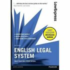 Law Express: English Legal System by Emily Finch, Stefan Fafinski (Paperback, 2016)