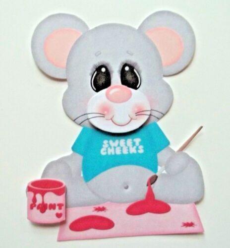 3D Love  Bunny Chick Ladybug Mice Bee Paper Embellishment U Pick