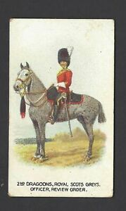 WILLS-AUS-TYPES-OF-BRITISH-ARMY-CAPSTAN-14-2ND-DRAGOONS