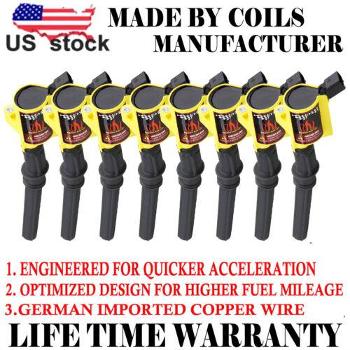 Super Set of 8 Ignition Coil Pack For Ford F150 F550 4.6//5.4L DG508 V8 Lincoln