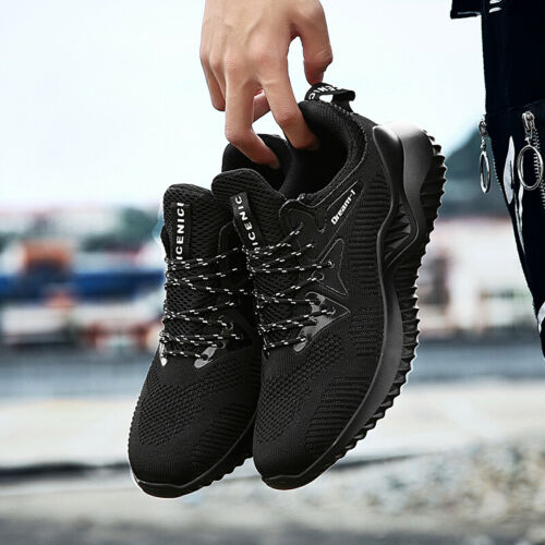 Plus Size Men/'s Sneakers Breathable Running Shoes Lace Up Casual Tennis Shoes US
