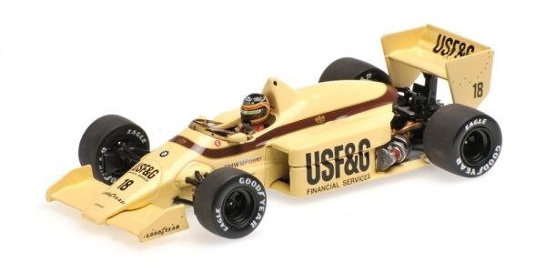 ARROWS BMW a8 Thierry Boutsen 1986 1 43 Model MINICHAMPS