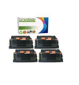 4pk Compatible toner cartridge for CC364X HP Laserjet 64x High Yield Black 364X